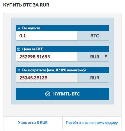 как купить биткоин за рубли